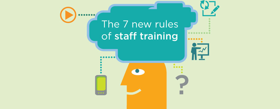 7 rules of staff training