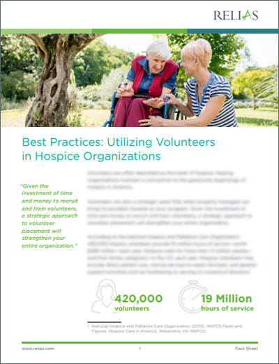 Hospice Volunteers Best Practices White Paper