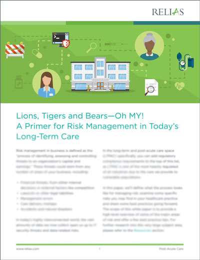 Risk Mitigation for Long-Term Care White Paper