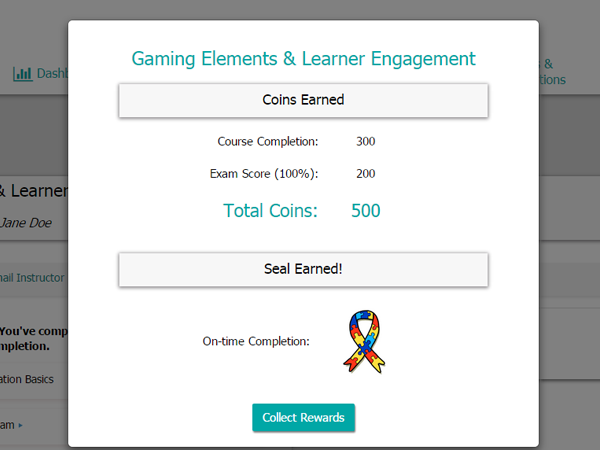 gaming elements screen