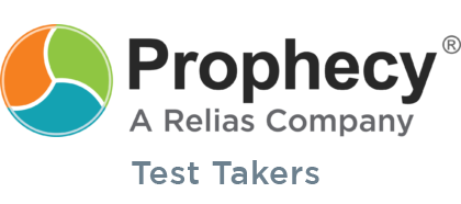 Prophecy Test Takers Login