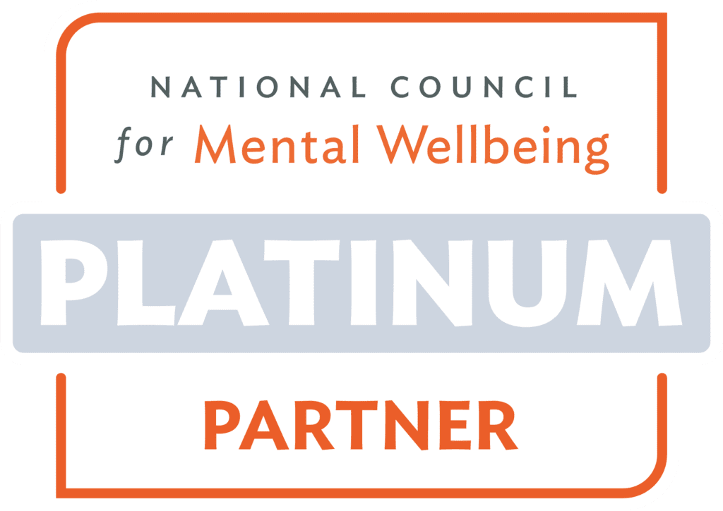 National Council for Mental Wellbeing Platinum Partner